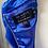 Thumbnail: Ted Baker blue velvet short dress. 10/12