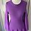 Thumbnail: Issa purple stretch dress. 8-12