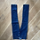 Thumbnail: Boys navy denim jeans Age 11-12