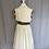 Thumbnail: Vintage cream dress age 7