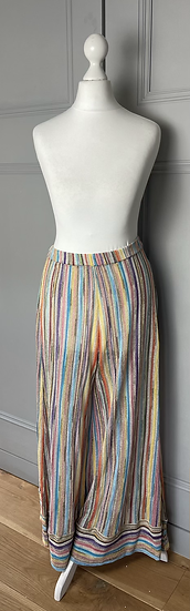 Missoni Mare multi coloured beach trousers UK10