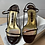 Thumbnail: Gina darn brown leather sandals size 36