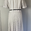 Thumbnail: Vintage polka dot dress with belt UK10