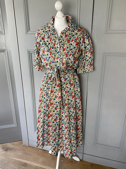 Vintage (NEW) Liberty poppie print dress. 12/14