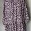 Thumbnail: BNWT H&M purple floaty dress UK S