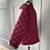 Thumbnail: Girls BURBERRY burgundy diamond quilted jacket 4yrs