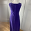 Thumbnail: Vintage velvet feel purple maxi 12