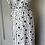 Thumbnail: Boden navy and white wrap dress Uk 10/12