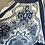 Thumbnail: Vintage East blue/white skirt Uk10/12