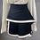 Thumbnail: Alexander McQueen McQ black/cream wool skirt  UK8/12