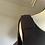 Thumbnail: Kate Spade NY Black bow vest top UK10