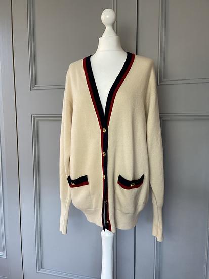 Vintage Chanel Cashmere cardigan  UK 10-14
