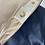 Thumbnail: Girls CHLOE navy rain coat with pink lining 12yrs