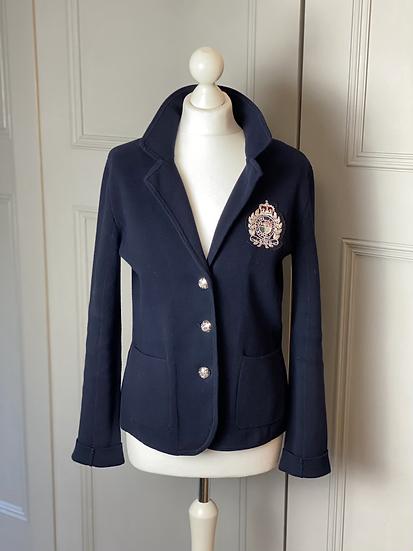 Ralph Lauren navy knitted jacket/cardigan rrp£180