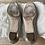 Thumbnail: Jimmy Choo gold coatse glitter flats size 35.5 rrp£494