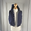 Thumbnail: Petit Bateau padded hooded gilet 6mths