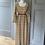 Thumbnail: Vintage 70's cream patterned maxi dress UK10-12