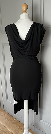 L.K.Bennett London black dress UK8