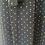 Thumbnail: Vintage navy maxi with gold polka dot UK10-12