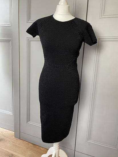 L.K Bennett black bodycon dress size M