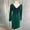 Thumbnail: Vintage green velvet shift dress 8/10