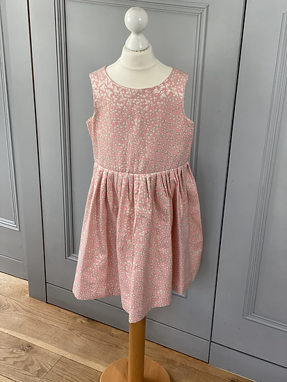 Bonpoint party dress pink/gold 10yrs