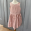Thumbnail: Bonpoint party dress pink/gold 10yrs