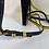 Thumbnail: Smythson Panama yellow leather body bag