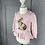 Thumbnail: Ralph Lauren baby girls pink bunny jumper 12-24mths