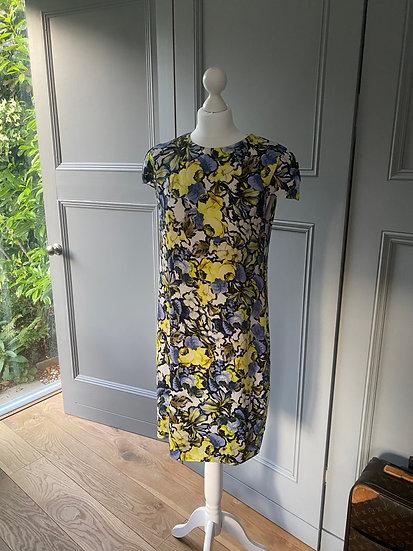 Erdem silk dress UK 12