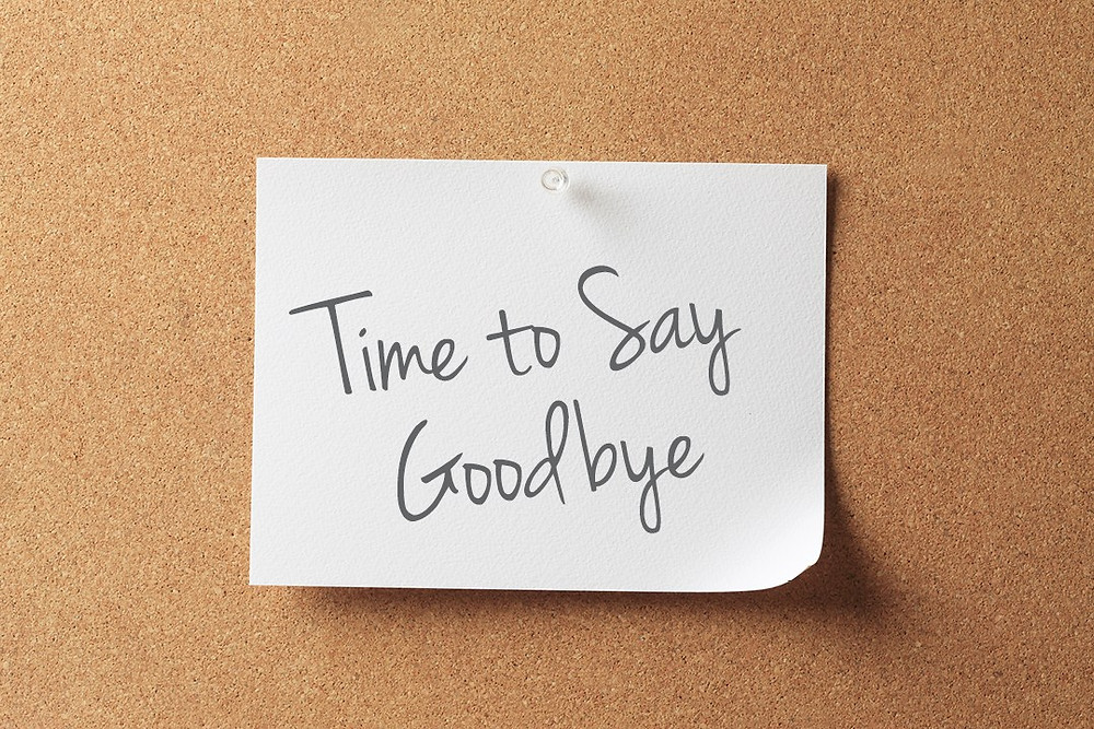 time to say goodbye to the negative people in your life