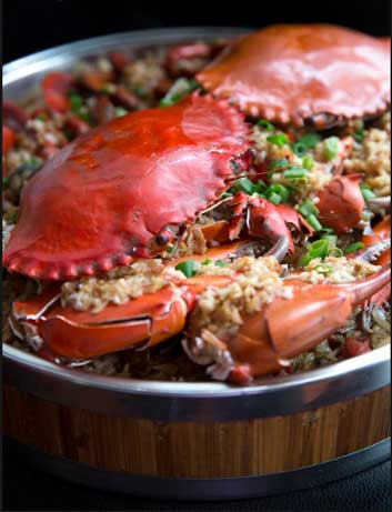 Crab Glutinous Rice