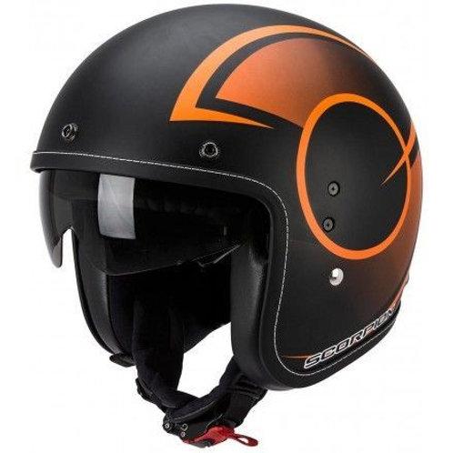 Scorpion Belfast Openface Helmets Citurban Matt black/orange