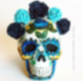 fondant sugar skull no mold