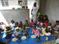 Repas complet pour les enfants
