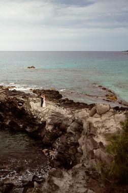 Elopement on cliffside