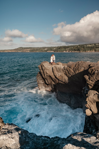 couple on cliff