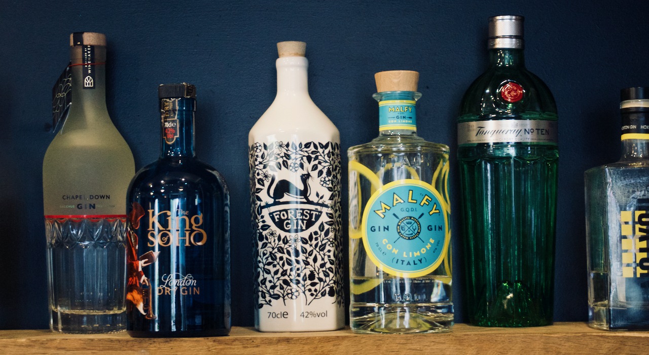 Selection of Fine Gins