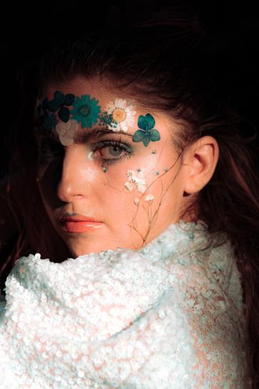 Portrait photo for fashion