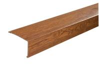angolare in pvc effetto legno