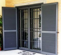 porta finestra grata di sicurezza