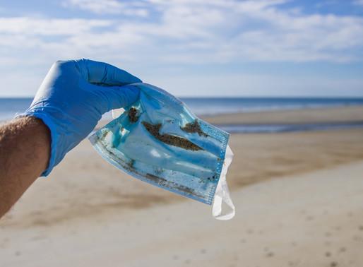 Corona- Einwegmasken werden zum Umweltproblem…