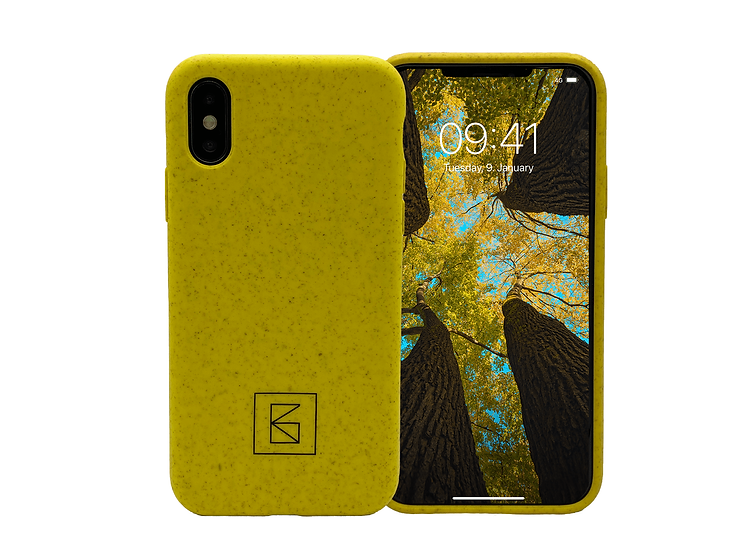 Infenitycase 1.0 iPhone X/Xs gelb