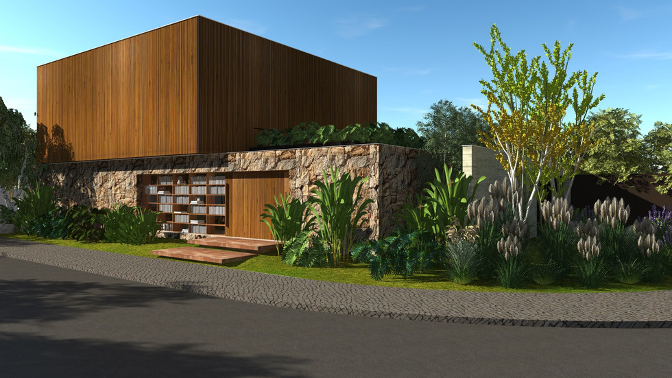 casa biblioteca