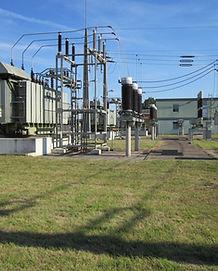 estación de la electricidad