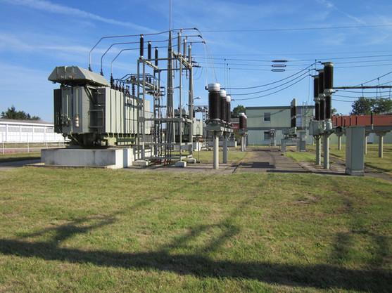 Estação de energia elétrica