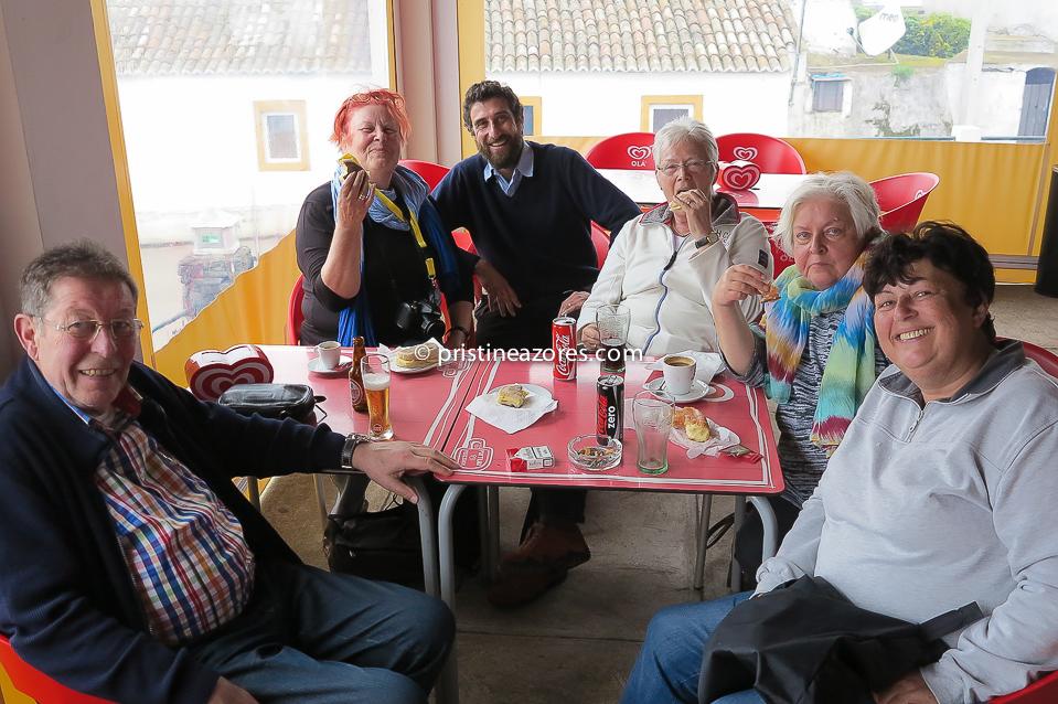 Dia fantástico com este grupo alemão
