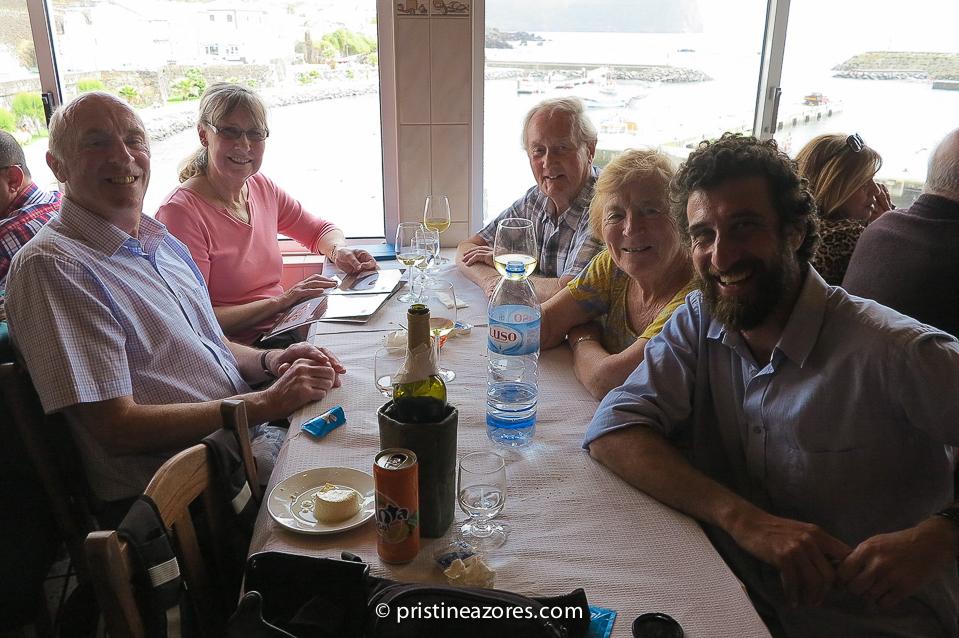 Island Tour e refeição de mar