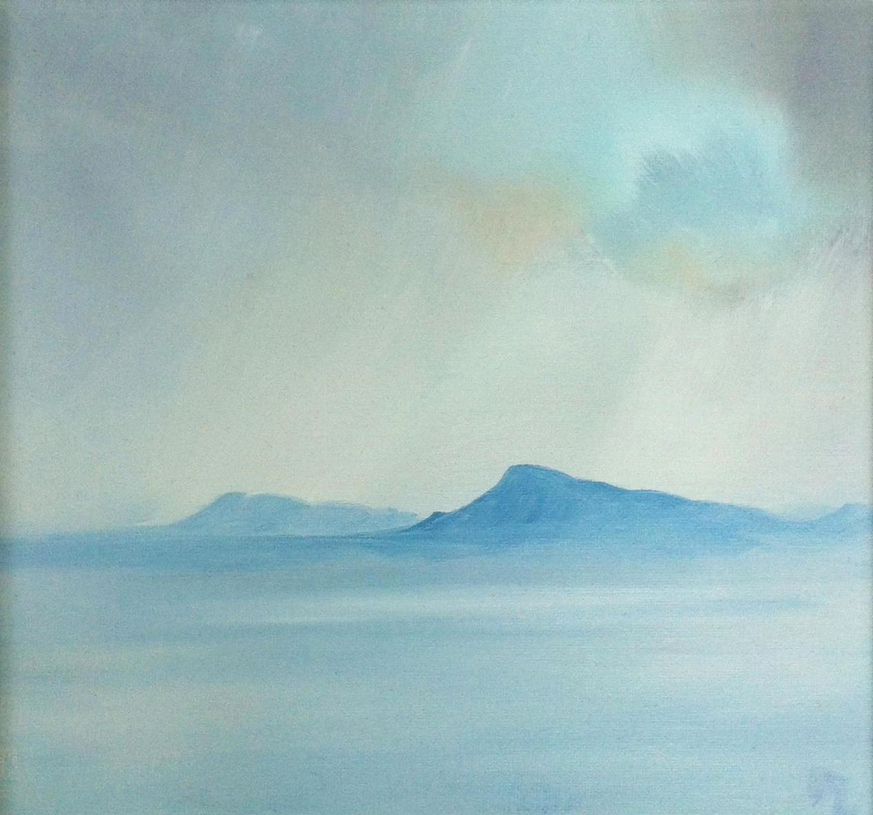 Breaking Mist', Eaval, North Uist