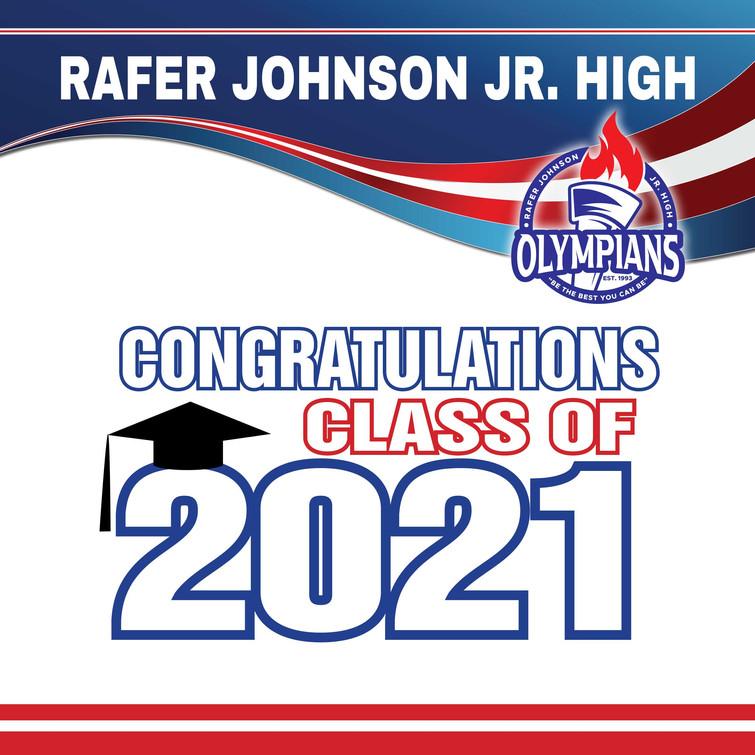 Rafer Johnson Yard Sign